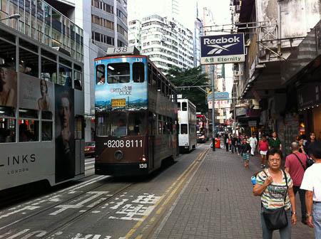 香港 tram